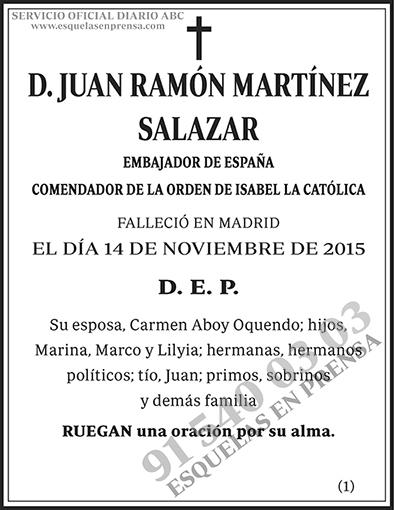 Juan Ramón Martínez Salazar